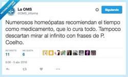 Enlace a Remedios infalibles para curarte con la ayuda de la homeopatía por @OMS_informa