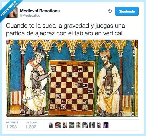 ajedrez,cuadro,fisica,gravedad,leyes,medieval,perspectiva,suda,vertical