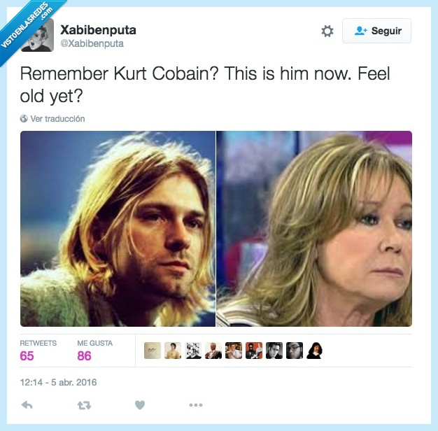 cumpleaños,Kurt Cobain,Mila Ximenez,morir,muerte