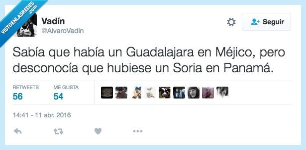 España,Guadalajara,México,ministro,Panama Papers,Soria