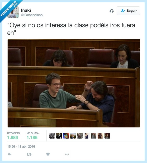 congreso,eh,fuera,Íñigo Errejón,interesa,interesar,ir,jugar,Pablo Iglesias,podeis,salir