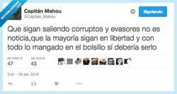 Enlace a Lo raro es que quede alguno sin cargos por @Capitan_Mahou