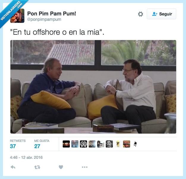 Bertín Osborne,Mariano Rajoy,mía,offshore,tuya