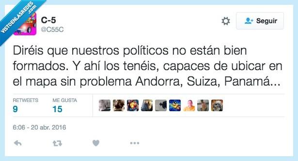 Andorra,blanque,dinero,formados,geografía,mapa,Panamá,politicos,Suiza,ubicar