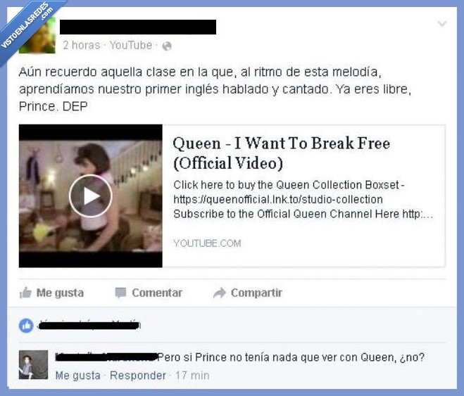 i want to break free,prince,queen