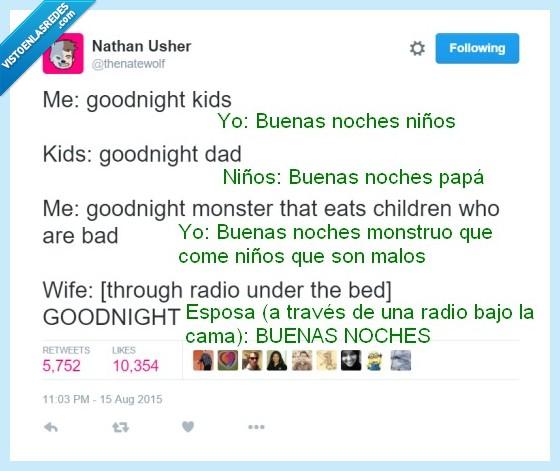 madre,monstruo,niño,padre,seré un padre genial