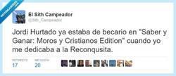 Enlace a Jordi Hurtado, El Inmortal por @Sith_Campeador