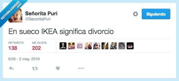 divorcio,ikea,significa,sueco