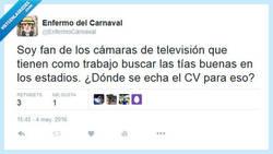 Enlace a Un trabajo muy duro, me lo pido por @EnfermoCarnaval