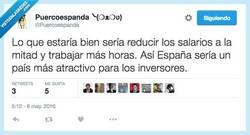 Enlace a Tengo la solución para la crisis (que no) por @Puercoespanda