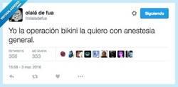 Enlace a Que empiece la operación bikini por @olaladefua