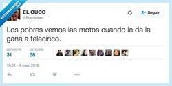Enlace a Yo quería ver las motos, pero parece ser que no por @Forniciero