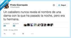 Enlace a Pero no te diré el nombre de cuál de ellas por @Guarrapata