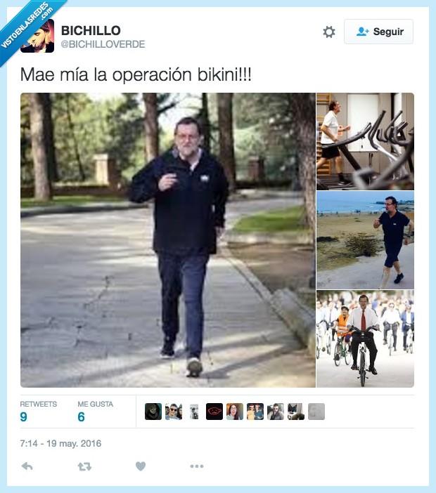 deporte,Mariano Rajoy,operación bikini