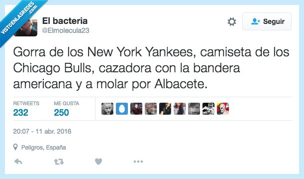 albacete,america,americana,bandera,camiseta,cazadora,chicago bulls,Estados Unidos,gorra,molar,new york yankees