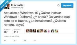 Enlace a Ya sabía yo que lo de Windows 10 me recordaba a algo por @Formalito_soy