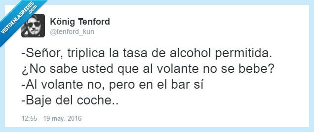 alcohol,bar,beber,coche,permitida,señor,tasa,volante,votar
