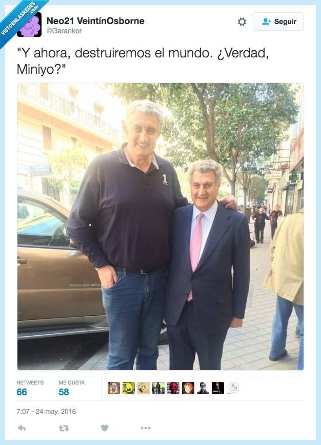 austin powers,bajito,doble,Fernando Romay,miniyo,mundo,romai