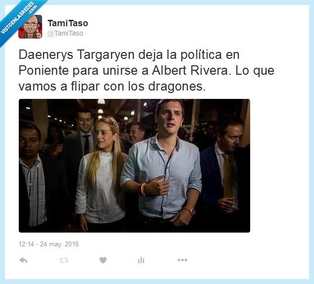 Albert,Daenerys,Juego De Tronos,Rivera,Targaryen