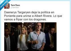 Enlace a Tiembla, Pablo Iglesias, la Khaleesi está conmigo... por @TamiTaso