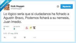 Enlace a Entre los dos, los debates serían de lo más entetenidos por @HulkHoygan