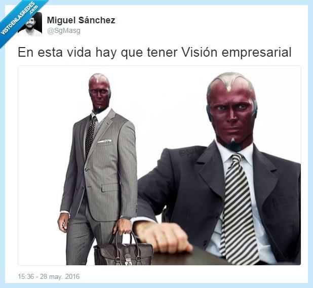 empresa,empresarial,los vengadores,marvel,The Avengers,vision