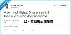Enlace a Es undécima, no onceava, gente... por @ionbigote