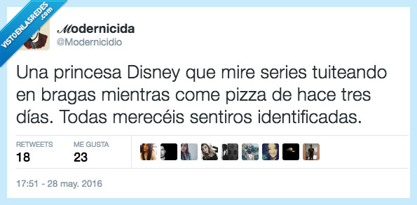 disney,modernicidio,pizza,princesa,series