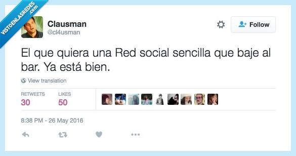 bar,red social,socializarse