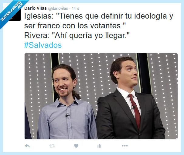 debate,elecciones,Franco,frente a frente,Iglesias,Maduro,Nicole Kidman,Rivera,Salvados,Venezuela