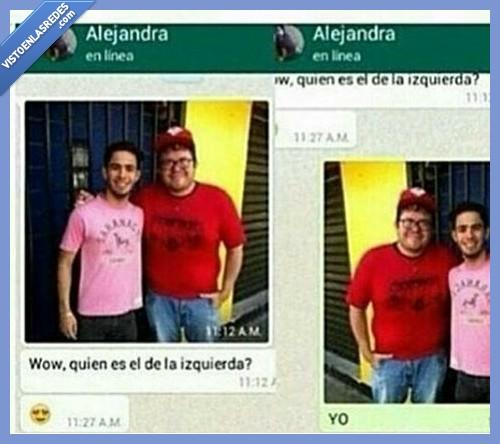 amigo,derecha,foto,girar,izquierda,whatsapp