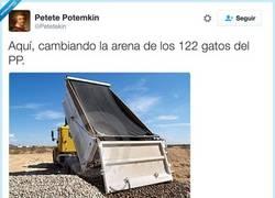 Enlace a Cambiando la arena, por @Petetekin
