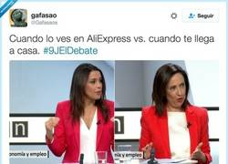 Enlace a Aliexpress vs realidad, por @gafasaos