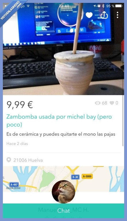 michael bay,wallapop,zambomba