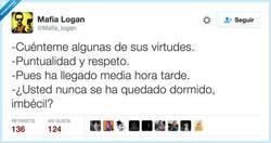 Enlace a Virtudes, por @Mafia_logan