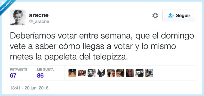 resaca,votar