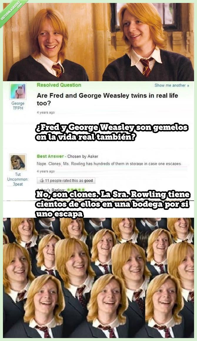 gemelos,retraso,rowling,weasley
