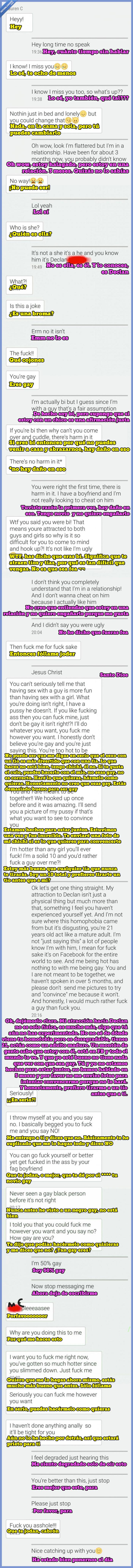 chica,conversación,gay,ligar