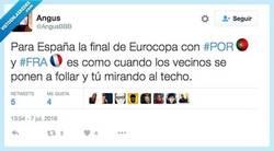 Enlace a La final de la Euro para España, por @AngusBBB