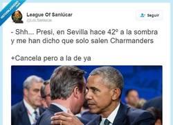 Enlace a Obama no va a Sevilla, por @LoLSanlucar
