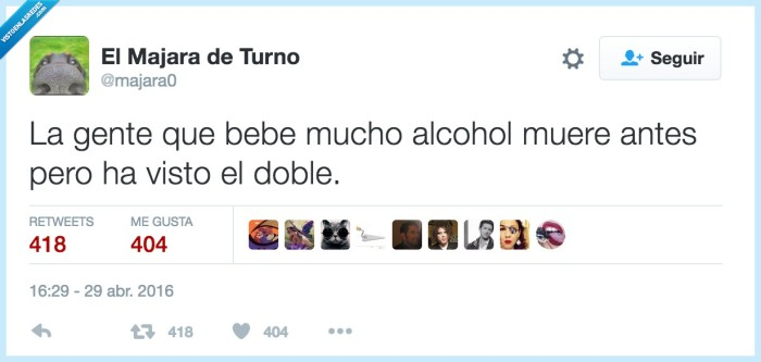 alcohol,beber,ver doble