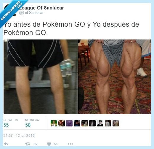 musculado,piernas,pokémon go
