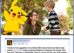 Enlace a Madre emocionada da las gracias a Pokémon GO por cambiar la vida de su hijo autista