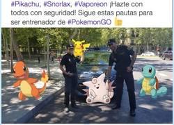Enlace a WTF La@policia te da las pautas de Pokémon GO