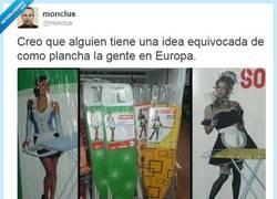 Enlace a Así planchamos en realidad, por @monclus
