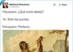 Enlace a Solo las puntas, por @Medievalico