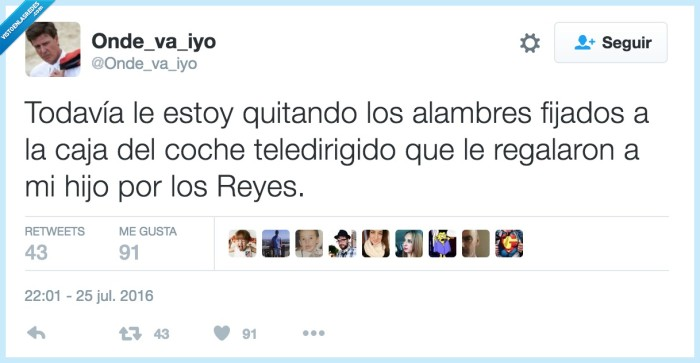 cables,juguetes,reyes