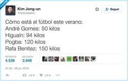 Enlace a Fichajes veraniegos, por @norcoreano