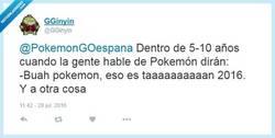 Enlace a El destino de PokemonGo