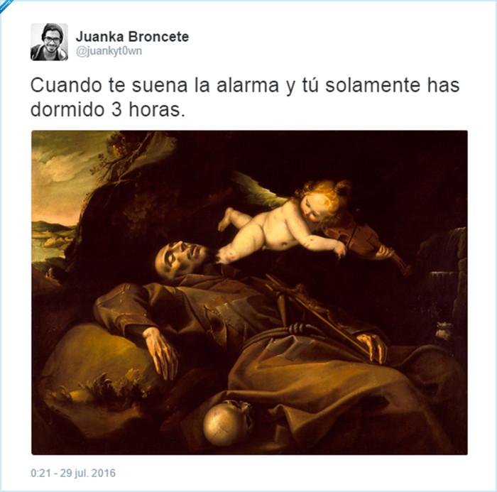 barroco,despertador,destrucción,muerte,pintura